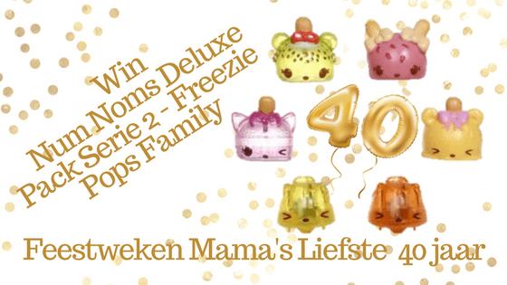 Feestweken Mama's liefste 40 jaar Num Noms Freezie Pops Family