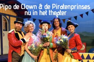 Pipo de Clown & de Piratenprinses nu in het theater