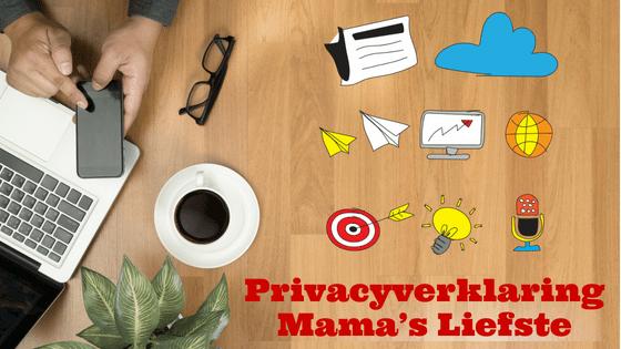 Privacyverklaring Mama's Liefste