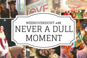 Weekoverzicht   Never a dull moment week 48 - Sinterklaas
