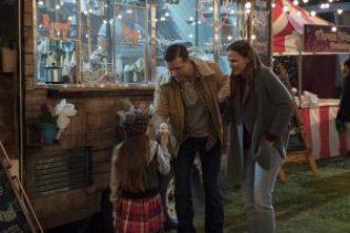 Cailey Fleming, Jeff Hephner and Jennifer Garner star in PEPPERMINT