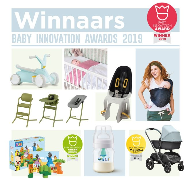 Winnaars Baby Innovation Awards