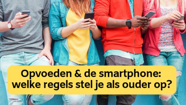 Opvoeden en een smartphone: welke regels stel je als ouder?  Shutterstock door DisobeyArt