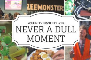 Weekoverzicht | Never a dull moment week 14 - hulpouder, bitterballen en iets met een injectie