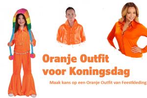 Oranje Outfit voor Koningsdag