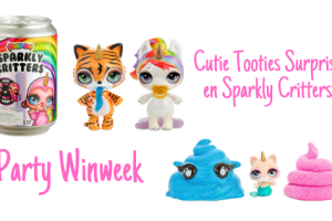 Party Winweek | Cutie Tooties Surprise en Sparkly Critters