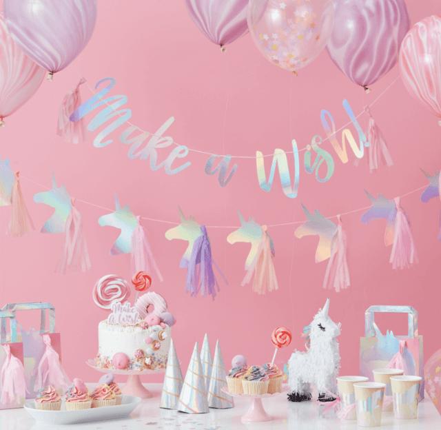 Unicorn feestje Lief & Jarig