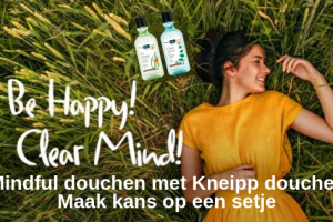 Mindful douchen met Kneipp douches