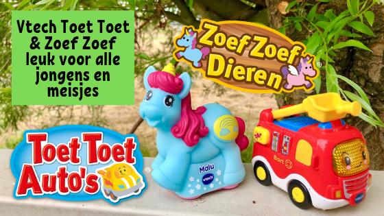 Vtech Toet Toet & Zoef Zoef leuk voor alle jongens en meisjes