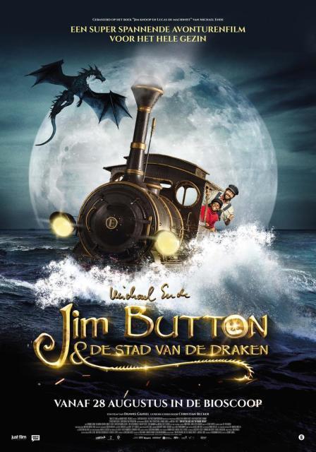 Jim Button en de Stad van de Draken filmposter