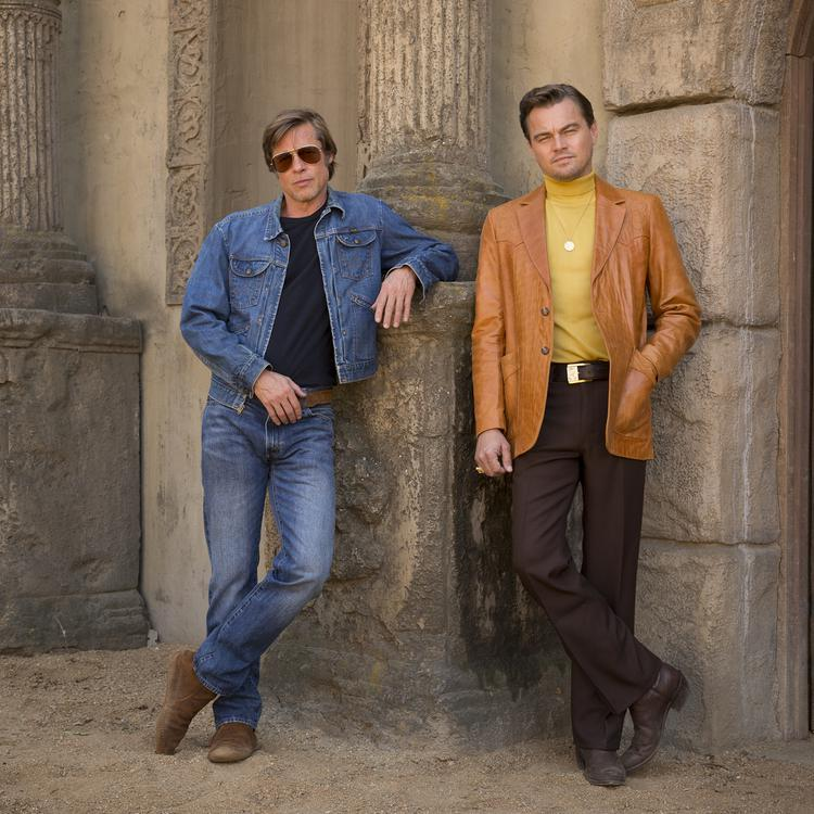 Brad Pitt and Leonardo DiCaprio star in Columbia Pictures ÒOnce Upon a Time in Hollywood""