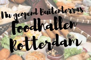 Opening Buitenterras Foodhallen Rotterdam