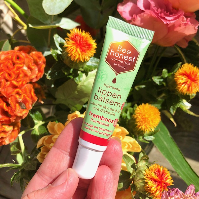 Jouwbox 6 - Lippenbalsem Framboos - Bee Honest Cosmetics