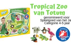 Tropical Zoo van Totum - genomineerd voor de Verkiezing van Speelgoed van het jaar 4-5 jaar