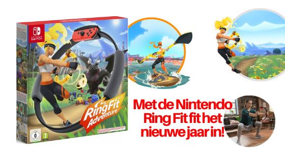 Met de Nintendo Ring Fit Adventure het nieuwe jaar in!