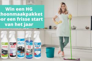 HG Schoonmaakpakket voor een frisse start van het jaar