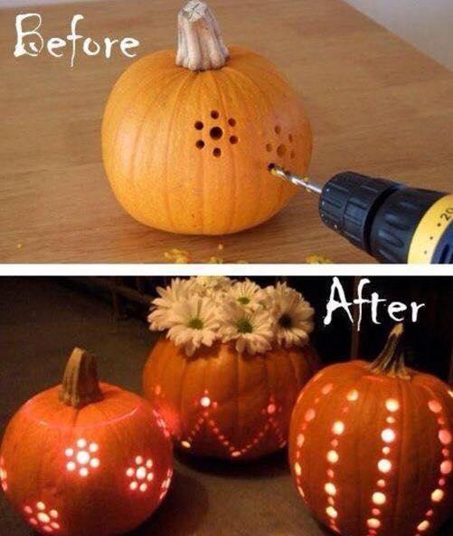 Drilling Pumpkins