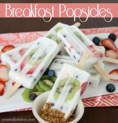Breakfast Popsicles!