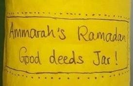 Ramadan Good Deeds Jar