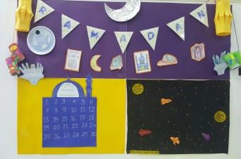 ramadan display wall good deeds