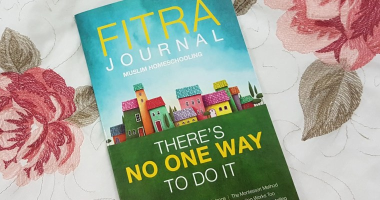 The Fitra Journal – a must have for homeschoolers.