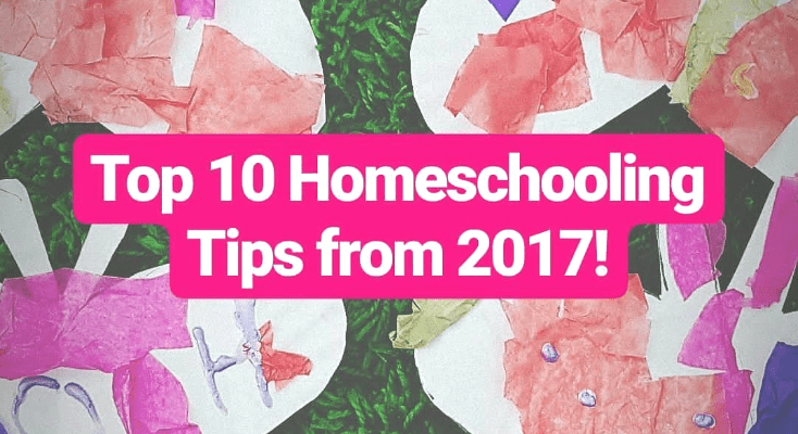 Top 10 Homeschooling Tips from 2017