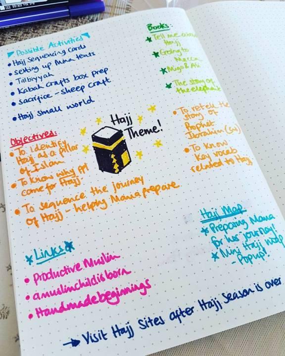 hajj for kids unit study theme
