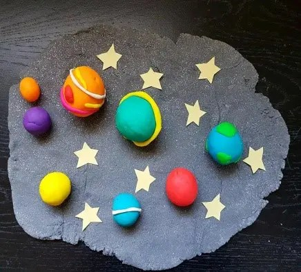 space play dough