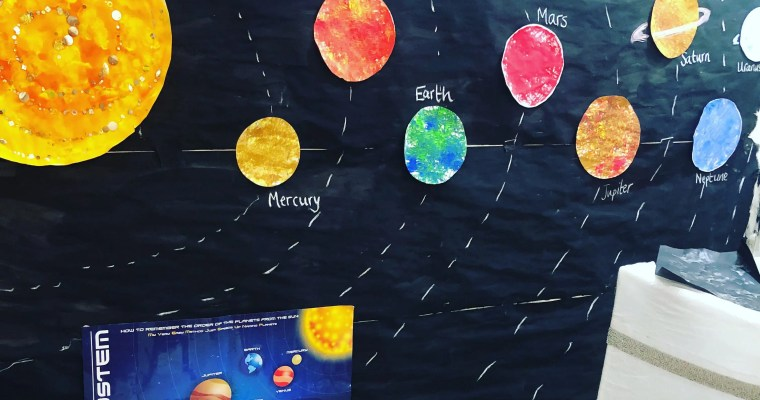 What to teach? Step by Step 3 Week Space Theme Unit Study