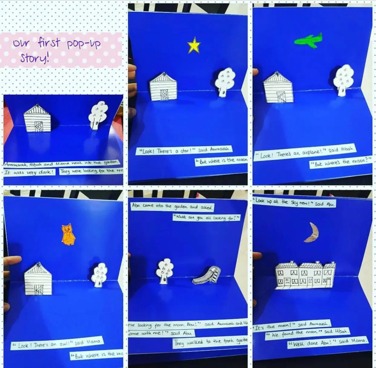 How to make your own Personalised Popup story for Ramadan!