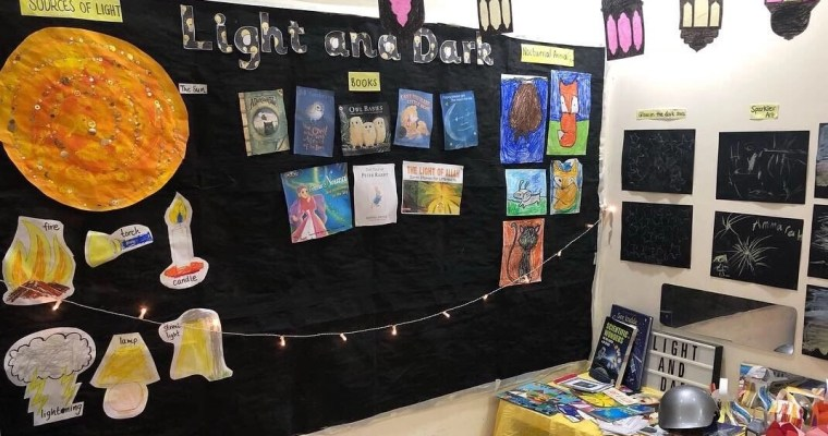 Year 1 Unit Study: Light and Dark!