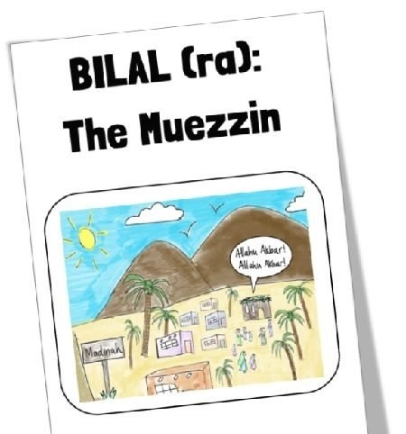 "<span itemprop=""name"">Mama Teaches Me Stories – Bilal (ra): The Muezzin</span>"