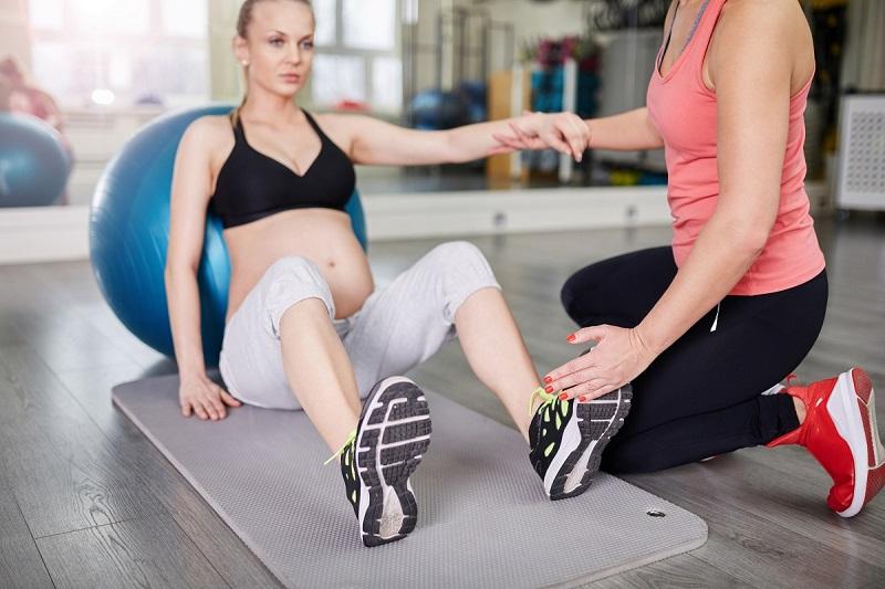 Sport in der Schwangerschaft, Personal Training für Schwangere, in der Schwangerschaft in Norderstedt