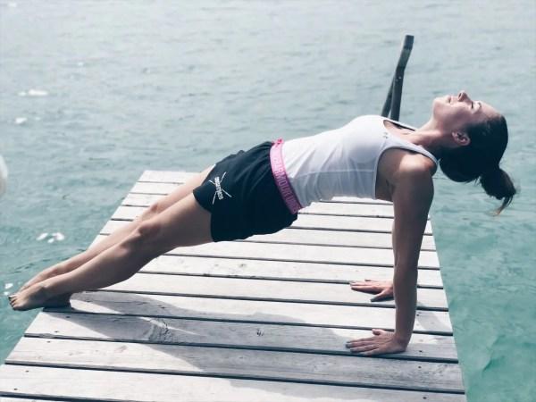 Schweißtreibende Yogaübungen Borotalco MamaWahnsinn