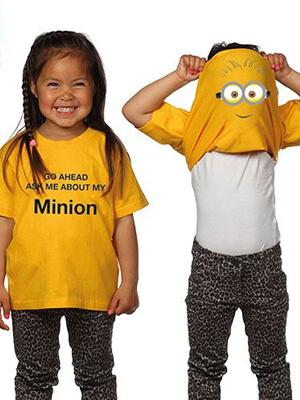Kinderkleding t-shirt minions