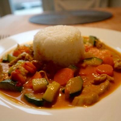 Garam Masala Curry mit Pute und Gemüse