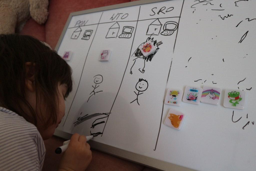 Ein Mittel gegen Kindergartenfrust: ein Wochenplan