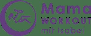 Logo MamaWorkout mit Isabel