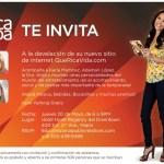 """Invitación para mis lectoras al Evento """"Que Rica Vida"""""""
