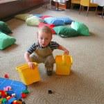 La Guardería no puede criar saludablemente a un bebé