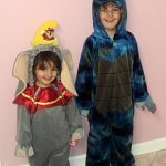 Wordless Wednesday: Mis monstruitos de Halloween!