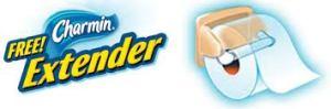 extensor de rollo de papel higiénico Charmin
