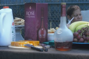house party rosé summer soiree