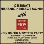 ¡Celebra el mes de la Herencia Hispana con Verizon Fios! ¡Fiesta en Twitter!