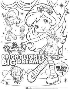 """Strawberry Shortcake """"Bright Lights, Big Dreams"""" ¡Sorteo! 2 ganadores"""