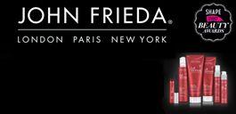 Muestra gratis: John Frieda shampoo y acondicionador