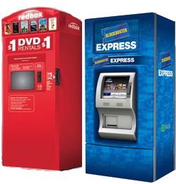 Códigos gratis para rentar DVDs en Blockbuster Express y RedBox