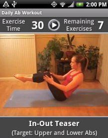 Gratis Android App para hacer ejercicios diariamente (sólo hoy Jueves)