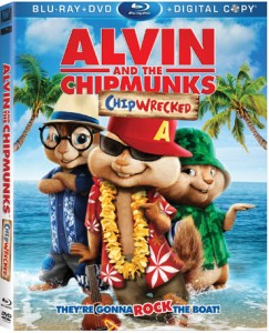 Alvin and the Chipmunks: chipwrecked ¡hojas de actividades gratis!