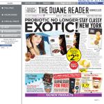 Duane Reader: de compras con el nuevo circular